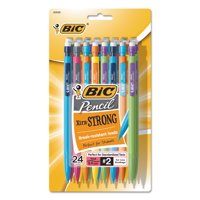 BIC Mechanical Pencil, Black, 24-Pack