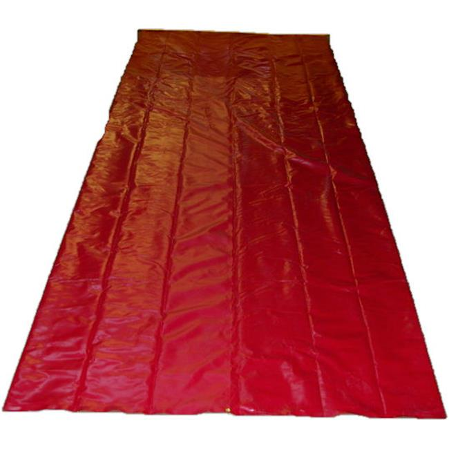RJS Racing Equipment 12-0005-04-00 15 x 40 ft. Pit Mat, Red
