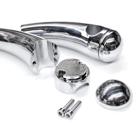 Cross Handles Bar - Krator Custom Chrome Motorcycle 1