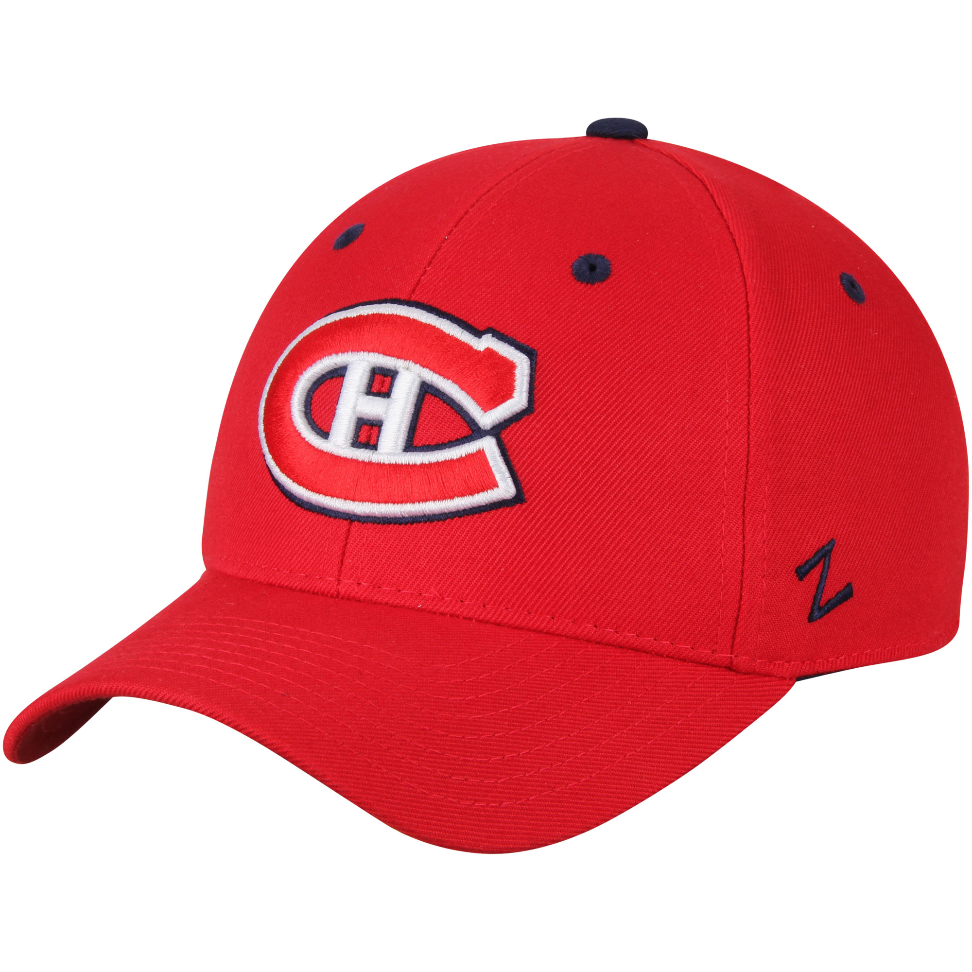 Montreal Canadiens Zephyr Crosscheck Fitted Hat - Red