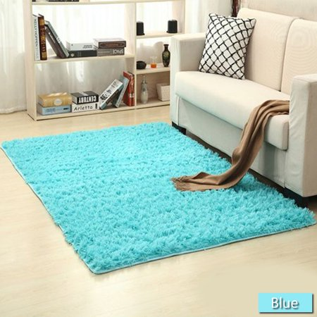 Conpik Fluffy Rugs Large Shaggy Area Rug Living Rooms Bedroom Dining Room Carpet Home Decoration