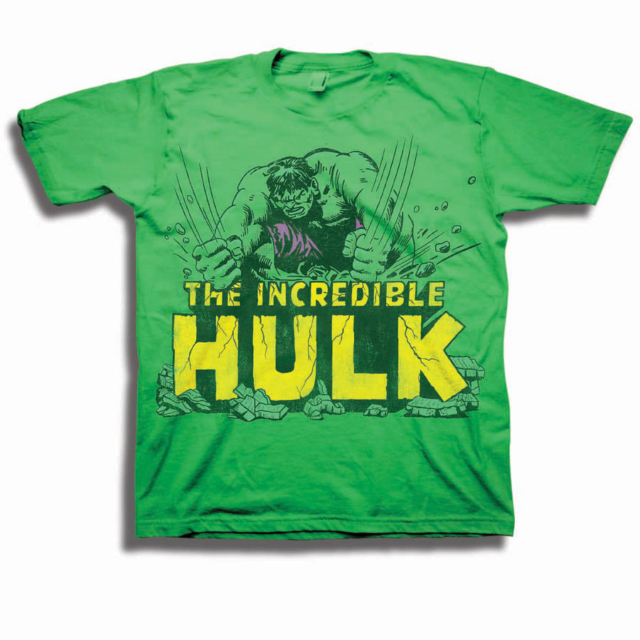 Incredible Hulk Toddler Boy Graphic Short Sleeve T-Shirt