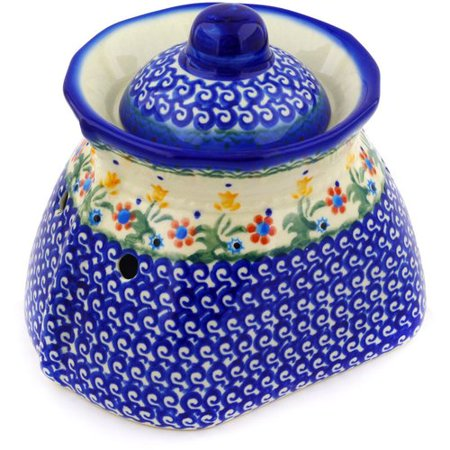 Polmedia Polish Pottery Garlic Jar