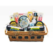 14pc Picnic Party Gourmet Summer Sausage and Cheese Gift Basket - Large