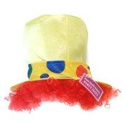 Tall Clown Costume Hat: Yellow
