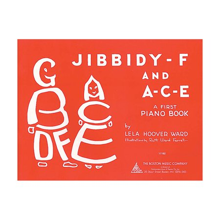 - Music Sales Jibbidy-F and A-C-E (A Child's First Piano Book) Music Sales America Series Softcover