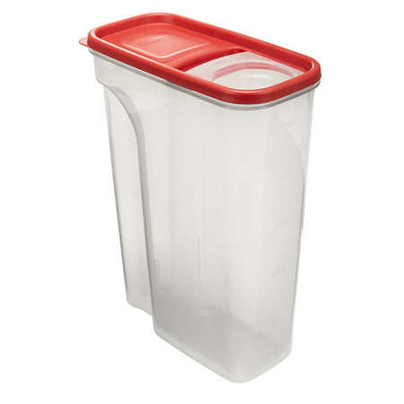 Rubbermaid Flip-Top Cereal and Food Storage Container, 22 Cup/5.2 Liter,