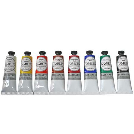 GAMBLIN ARTISTS COLORS CO F1660 FAST MATTE SAP GREEN 37ML