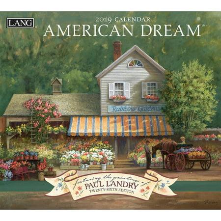 America Wall Calendar (2019 WALL CALENDAR, AMERICAN)