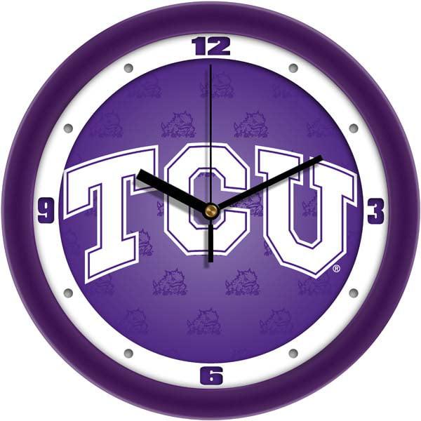 TCU Dimension Wall Clock