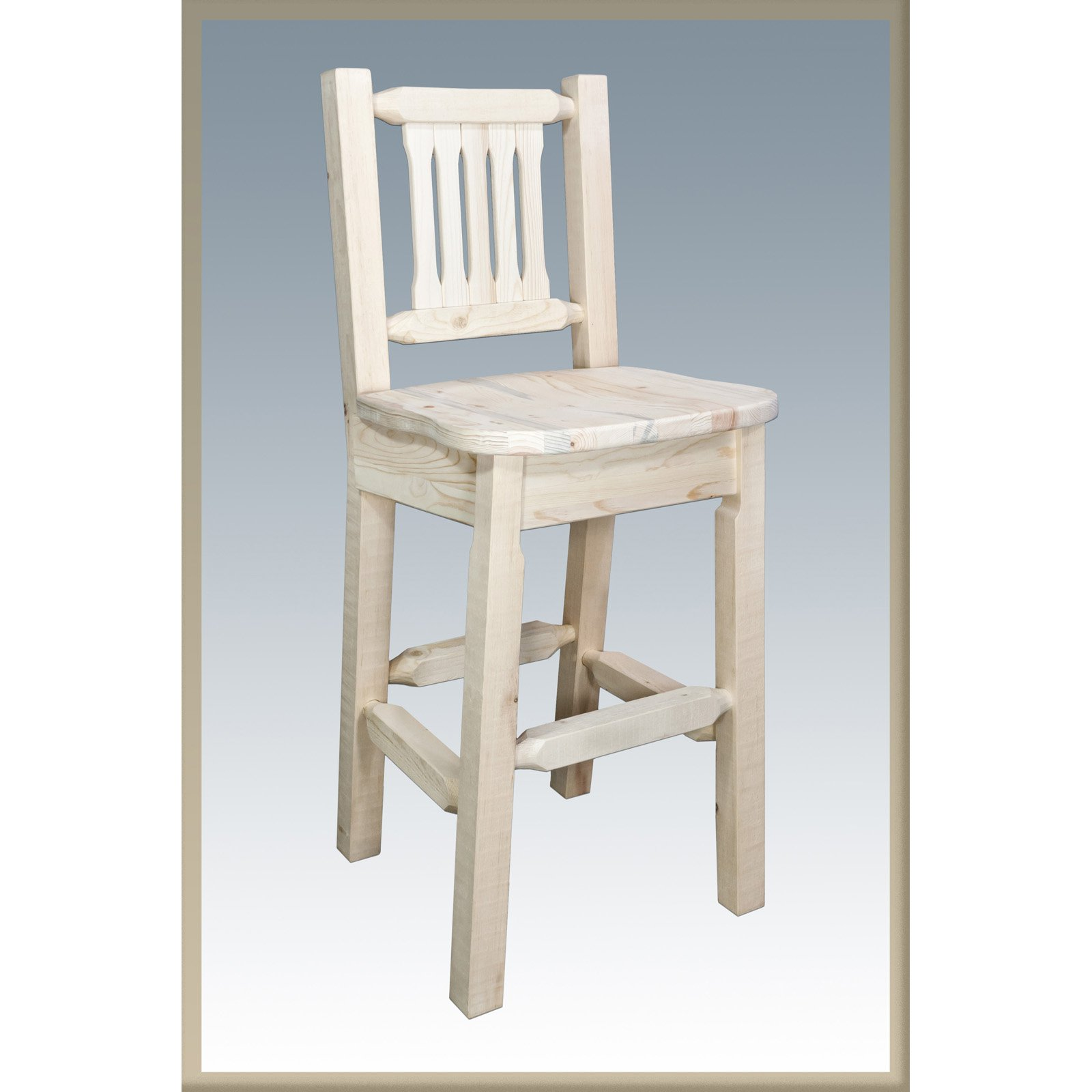 Montana Woodworks 30 in. Homestead Barstool