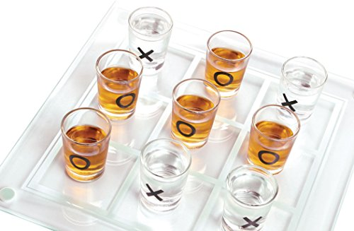 Palais Glassware Salle d'amusement Room of Fun Shot Glass Collection (Tic T... by Palais Glassware