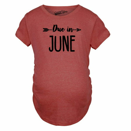 Maternity Due In June Tshirt Baby Shower Announcement Pregnancy - Pregnancy Announcement Ideas Halloween