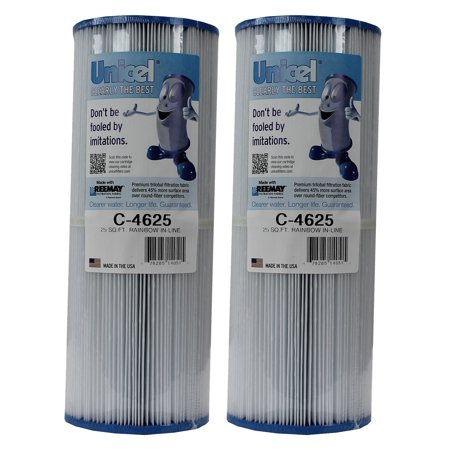 Unicel C-4625 Rainbow Pentair In-Line Replacement Spa Cleaner Filter