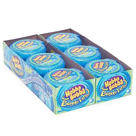 Bubble Tape 12Ct Sour Blue Raspberry - Pack Of
