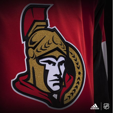 official photos 72640 741a2 Ottawa Senators Adidas Adizero NHL Authentic Pro Home Jersey ...