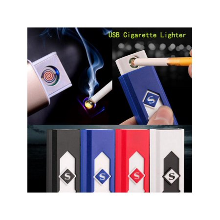 MarinaVida Electric Fire Lighter Battery Rechargeable Flameless Fire Lighter Cigarette Windproof