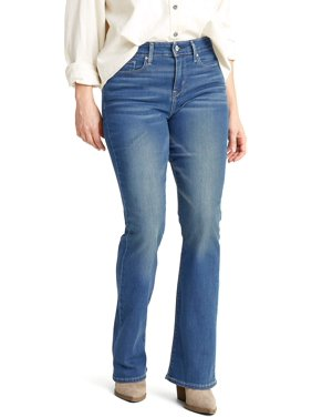 Signature by Levi Strauss & Co. Women's Shaping Mid Rise Bootcut Jeans