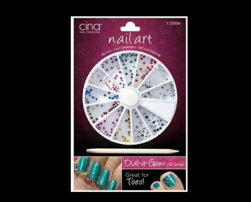 Dial A Gem Kit By Cina Nail Creations Walmart Com Walmart Com
