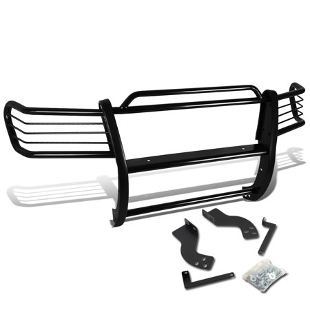 Land Cruiser Brush Guard - For 1998 to 2007 Land Cruiser J100 SUV Front Bumper Protector Brush Grille Guard (Black) 00 01 02 03 04 05 06