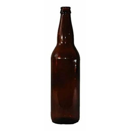 Monster Brew Home Brewing Supp Amber Beer Bottles (12 Pack), 22 oz