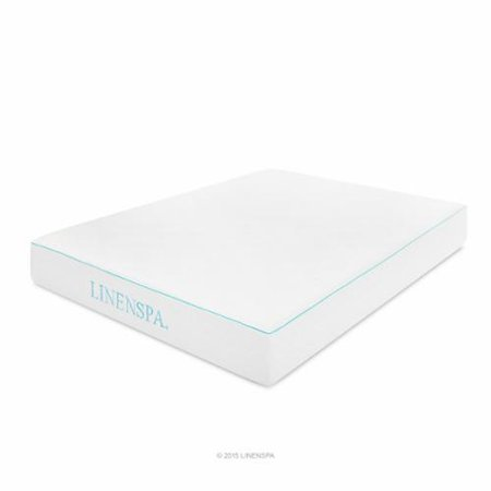 "Linenspa 10 "" Gel Memory Foam Mattress - Multiple Sizes"
