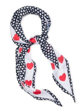 Colorplay Women's Hearts and Arrows Diamond Scarf