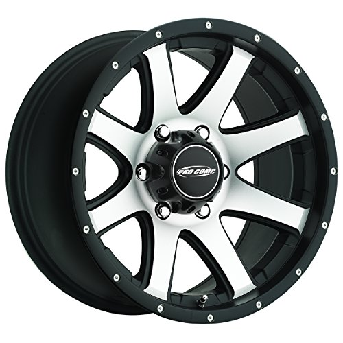 Pro Comp Wheels 3186-7973 Xtreme Alloys Series 3186 Series Black/Machined Finish