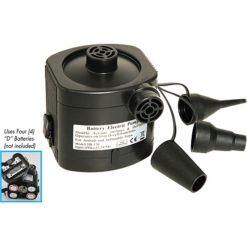 Pure Comfort Battery Powered Air Pump