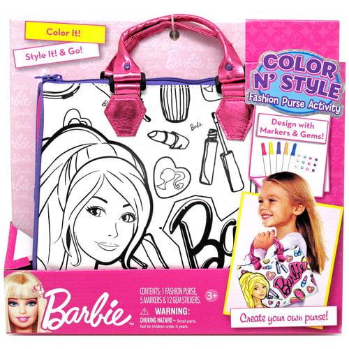 Barbie Color & Style Purse