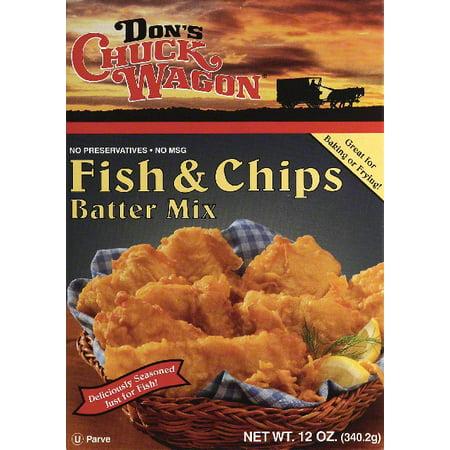 DONS CHUCK WAGON MIX BATTER FISH & CHIP - Walmart.com
