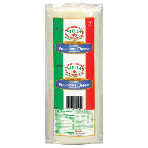 Stella Provolone Smoked Cheese, Deli Sliced