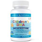 Nordic Naturals Children's DHA Mini Softgels, 250 mg, 360 ct