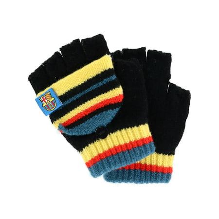 Kids 5-8 Knit Convertible Winter Mitten Gloves
