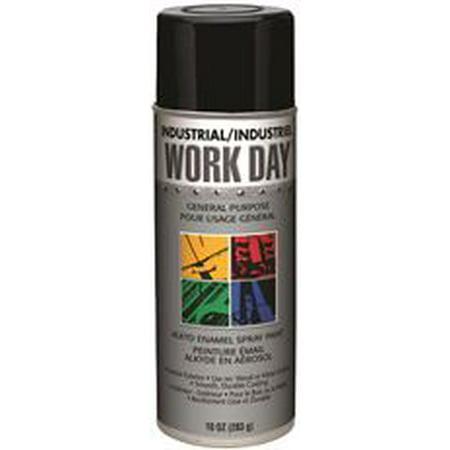 Krylon Spray Enamel  10 Oz  Can  Gloss Black
