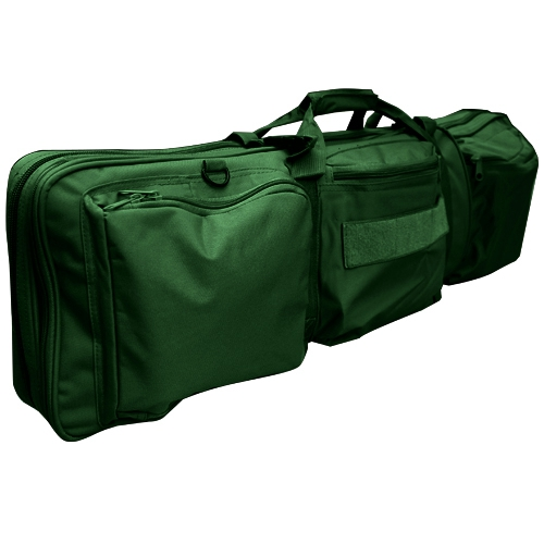 "EZshoot 85CM Tactical Military Rifle Gun Carrying Case Bag 34"" Dual Padded Slip Carry Bag"