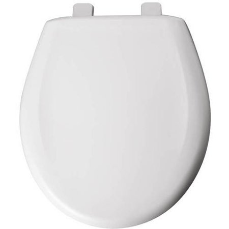 Bemis 200TCA Plastic Round Toilet Seat, Available in
