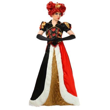 Plus Size Elite Queen of Hearts Costume (Elite Queen Of Hearts Costume)