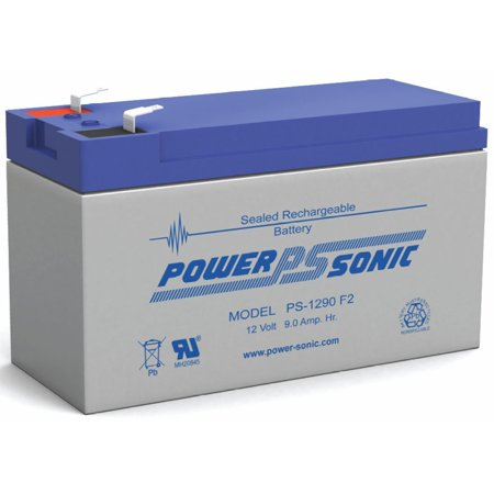 PS-1290 12 Volt 9 Amp Hour Rechargeable SLA Battery