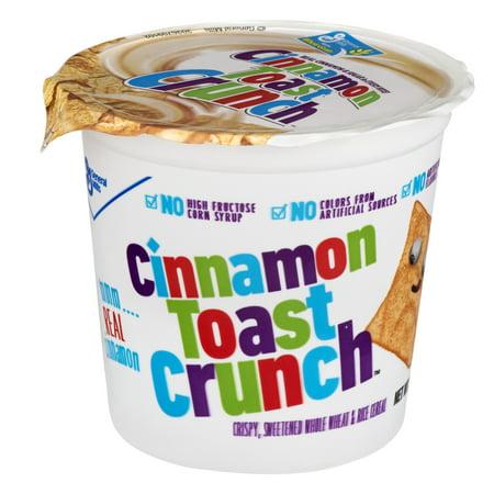 (6 Pack) Cinnamon Toast Crunch⢠Cereal Cups, 6ct, 2.0 - Cinnamon Raisin Toast