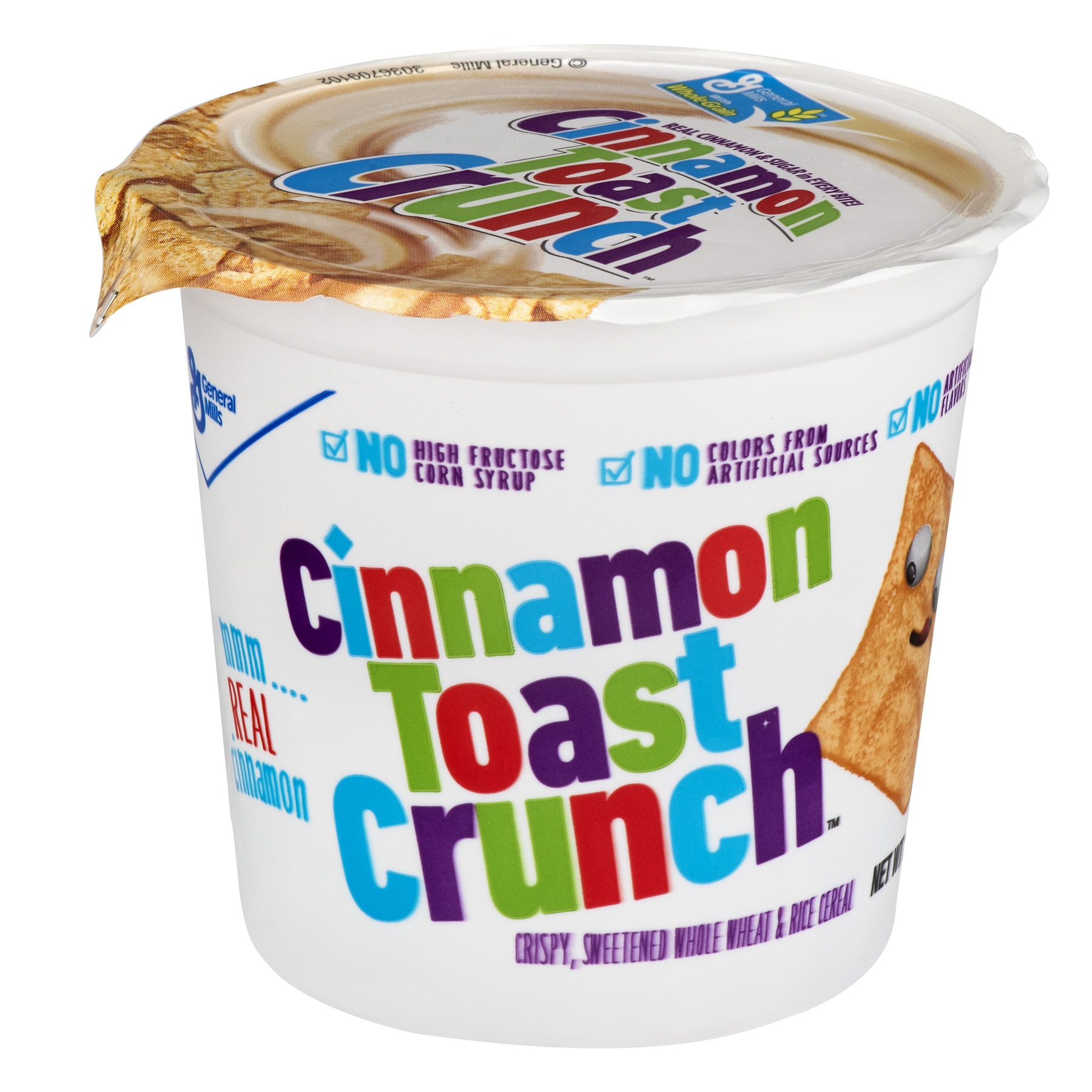 (6 Pack) Cinnamon Toast Crunch™ Cereal Cups, 6ct, 2.0 OZ