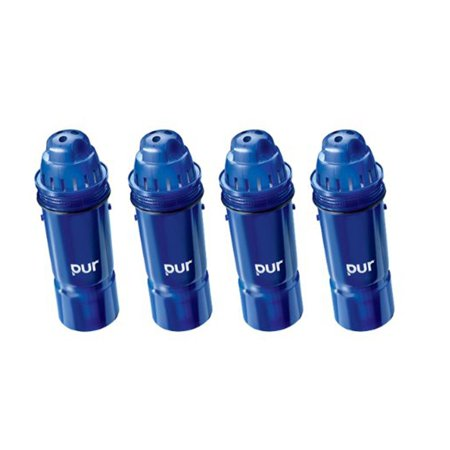 kaz 4-pack pur 2-stage water pitcher replacement filter - walmart.com