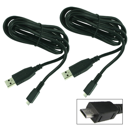 Garmin 0101147801 Micro-USB connection Connects your Garmin GPS to any PC -2 Pack