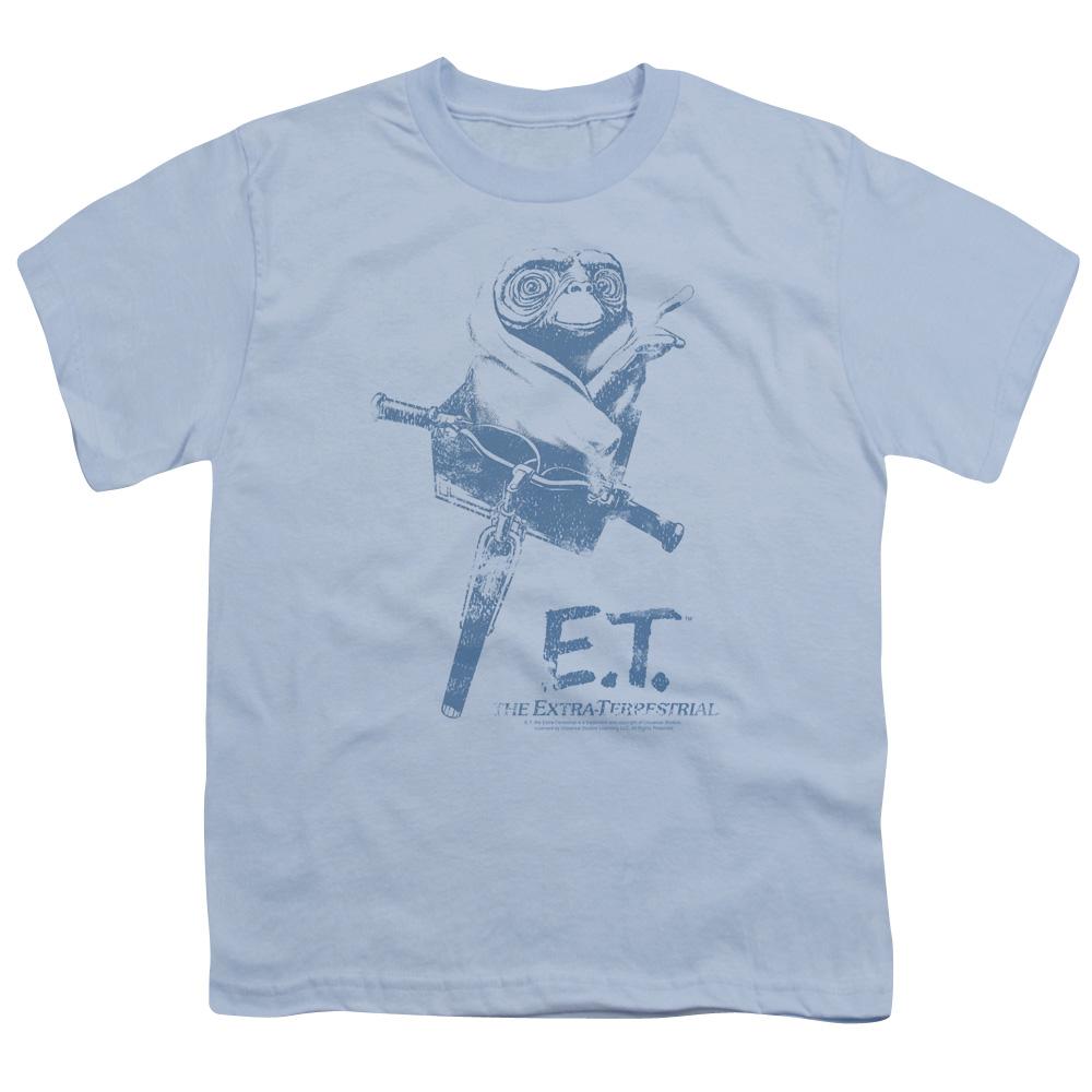 Et/Bike   S/S Youth 18/1   Light Blue     Uni491
