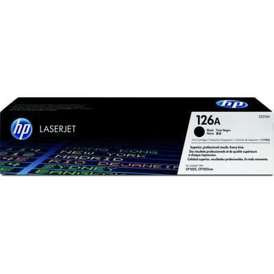 HP 126A Black Original LaserJet Toner Cartridge ()