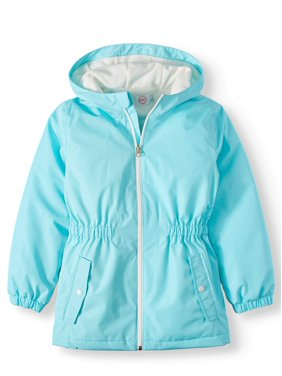 Wonder Nation Anorak Rain Jacket (Little Girls & Big Girls)