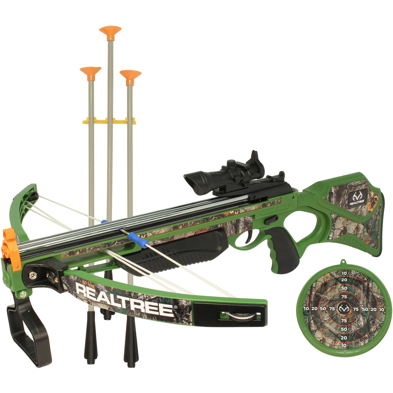 "NKOK RealTree 26"" Junior Compound Crossbow Set thumbnail"