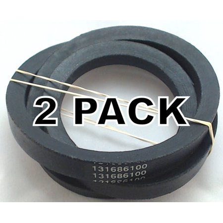Washing Machine Drive Belt (2 Pk, Washing Machine Drive Belt for Frigidaire, AP3867042, PS1146950,)