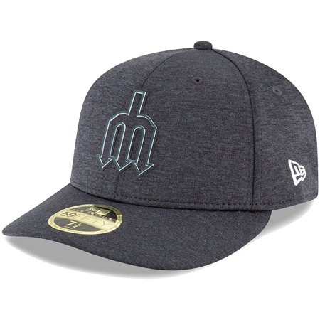 fa575665 Seattle Mariners New Era 2018 Clubhouse Collection Low Profile 59FIFTY  Fitted Hat - Navy