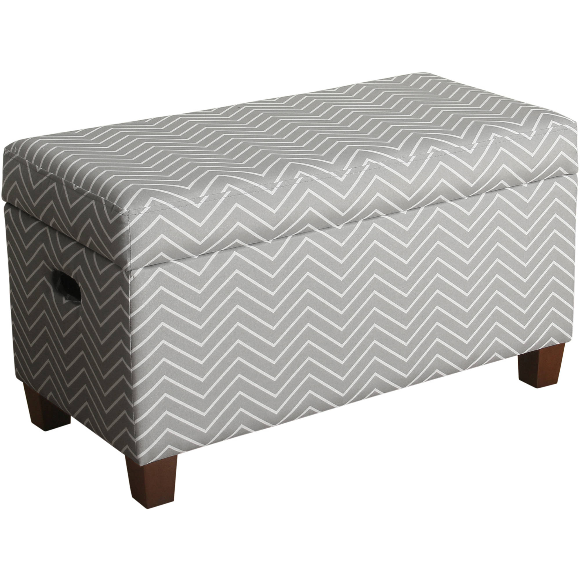 HomePop Juvenile Deluxe Storage Bench, Multiple Colors